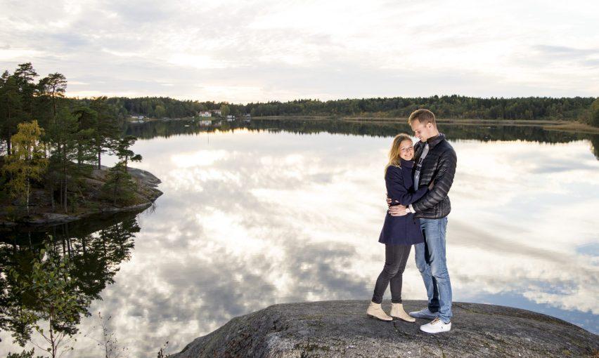 Parfotografering i Stockholm
