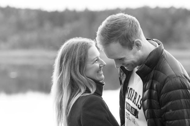 Parfotografering i Stockholm med Elisabeth och David - Couple's portait session in Stockholm with Elisabeth and David