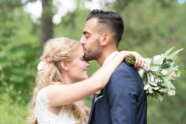 Bröllopsfotografering i Stockholm med Anna och Ahmed.