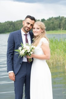 Bröllopsfotografering med Anna och Ahmed i Stockholm - Wedding photography in Stockholm with Anna and Ahmed