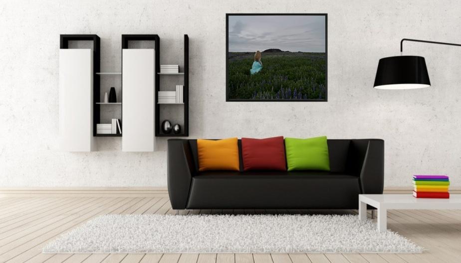 Fine art porträtt Island