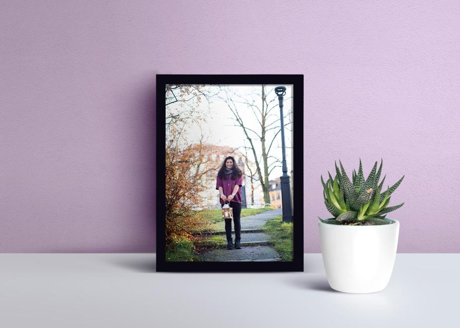 Tavla Porträttfotograferin i Stockholm