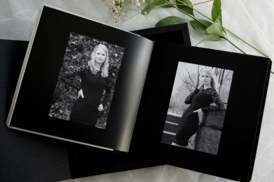 Italiensk handtillverkat fotoalbum