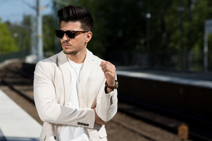 Porträttfotografering med Ali Ghafori i Stockholm