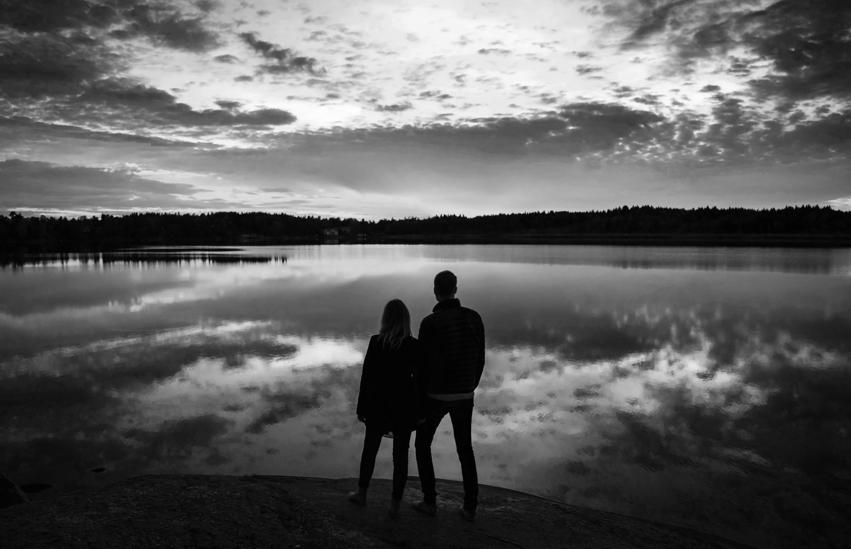 Elisabeth&David Parfotografering Stockholm